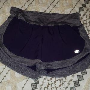 XS champion shorts purple